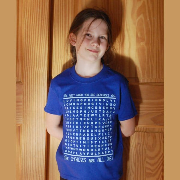 Virtues Word Search T-shirt