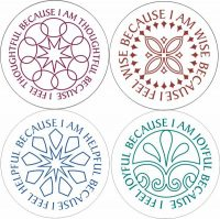 Daily/Weekly Virtue Affirmation Stickers
