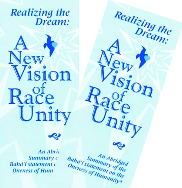 A new vision of race unity