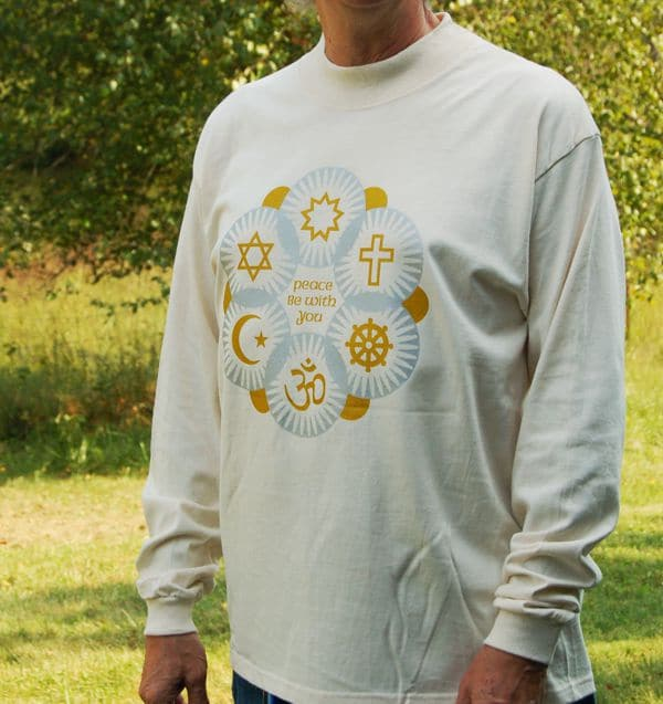 Interfaith Peace Be With You Long-Sleeve T-shirt
