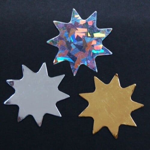 Nine Pointed Star MINI-Magnet