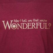 You're Wonderful T-Shirt