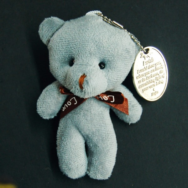 You Are Loved Medallion with Teddy Bear