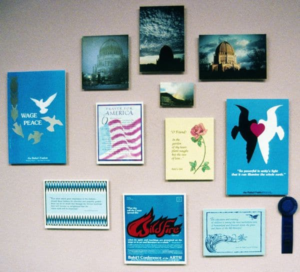 Bahai posters from 1984