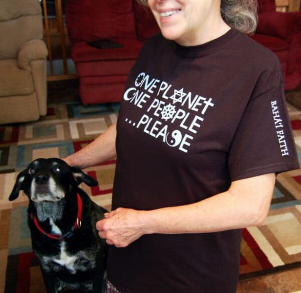 One Planet, One People . . . Please Baha'i T-shirt